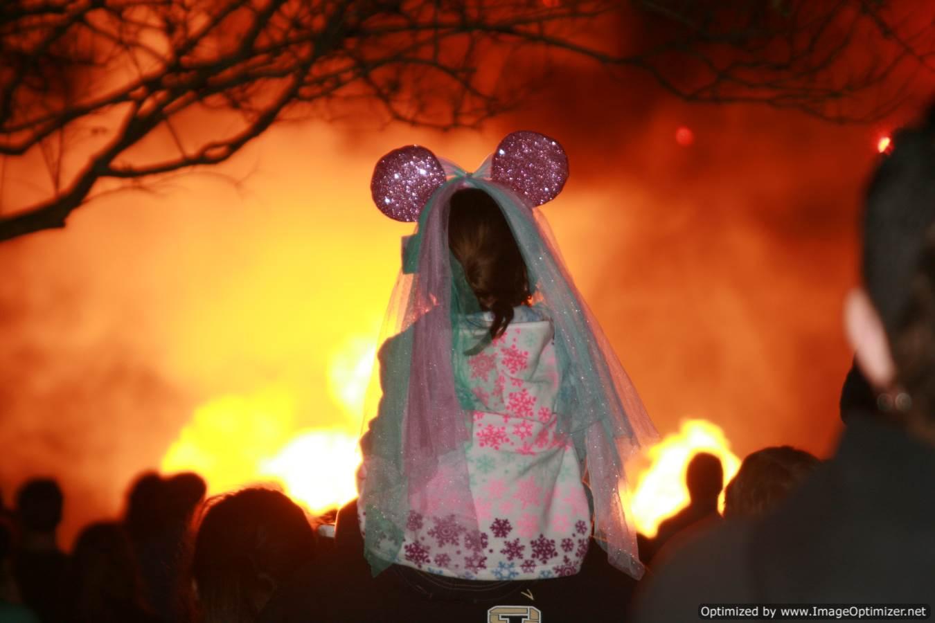 Disney Magic with little girl