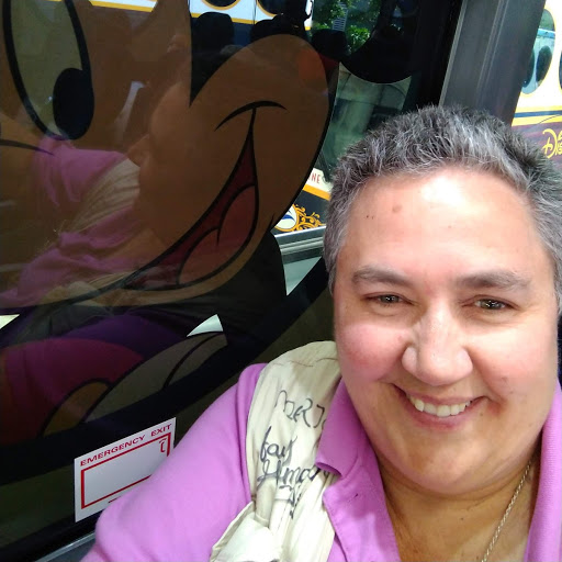Colleen Parisi on the Magical Express Bus